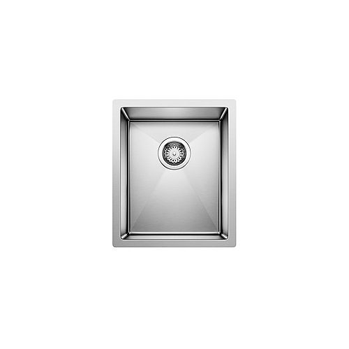 RADIUS 10 U SMALL BAR, Single Bowl Undermount Bar/Preparation Sink, Premium Stainless Steel