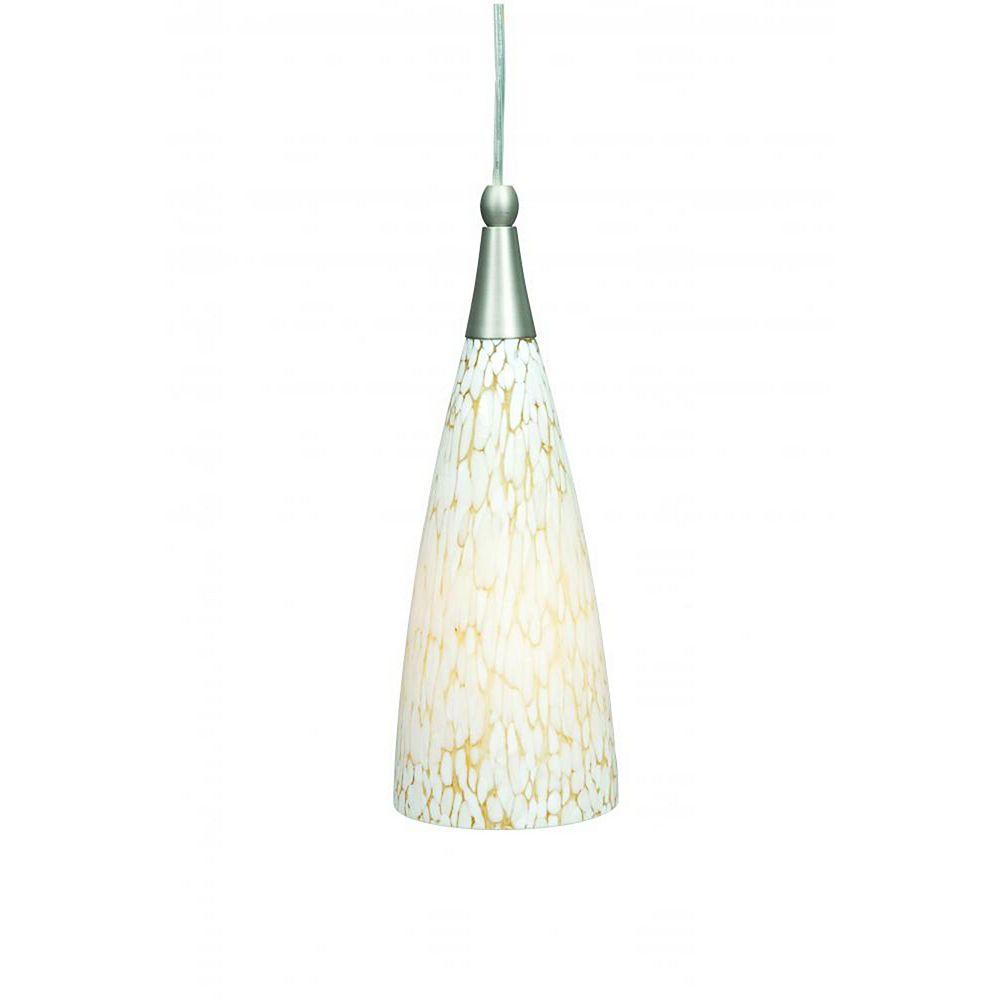 Filament Design Atropolis 1-Light Ceiling Satin Nickel Mini Pendant