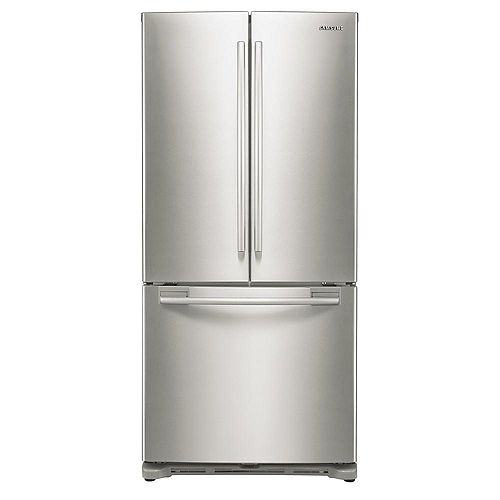 33-inch W 17.5 cu.ft French Door Refrigerator in Stainless Steel, Counter Depth