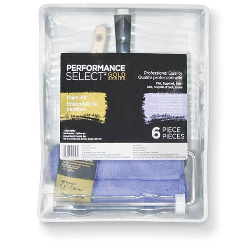 Performance Select Ensemble pour peinture, 6 pièces