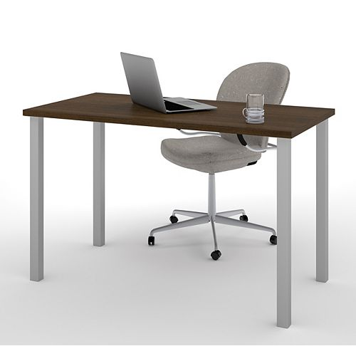 47.6-inch x 29-inch x 24-inch Standard Computer Desk in Brown