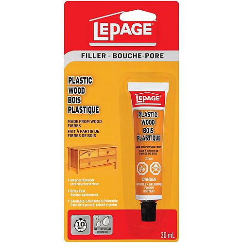 Plastic Wood Filler 30mL
