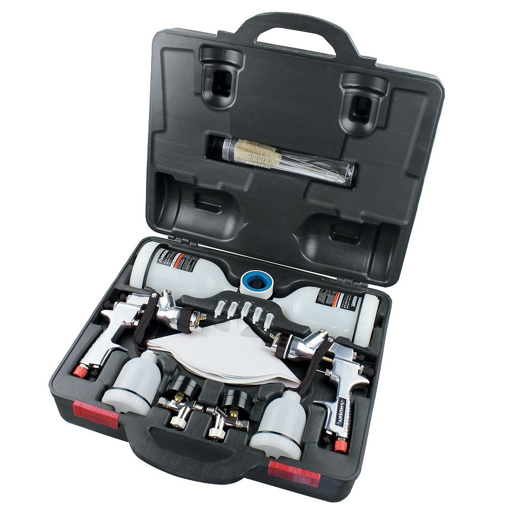 Husky Gravity Feed Spray Gun Kit