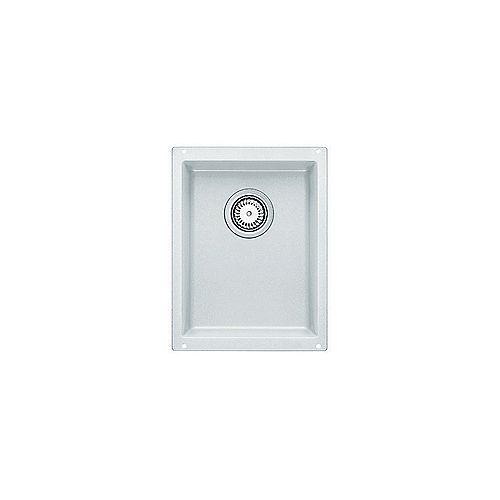PRECIS U .75, Single Bowl Undermount Bar/Preparation Sink, SILGRANIT White