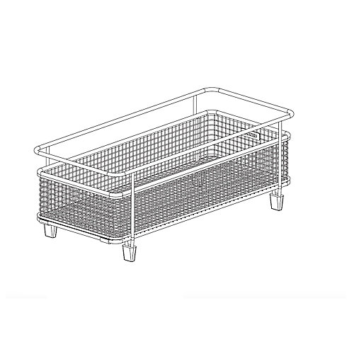 Precis with drainboard basket