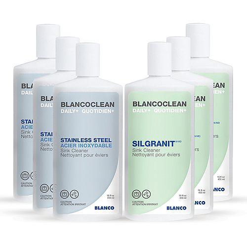 Blancoclean Combo Pack (12 x 450 ml) 6 each.