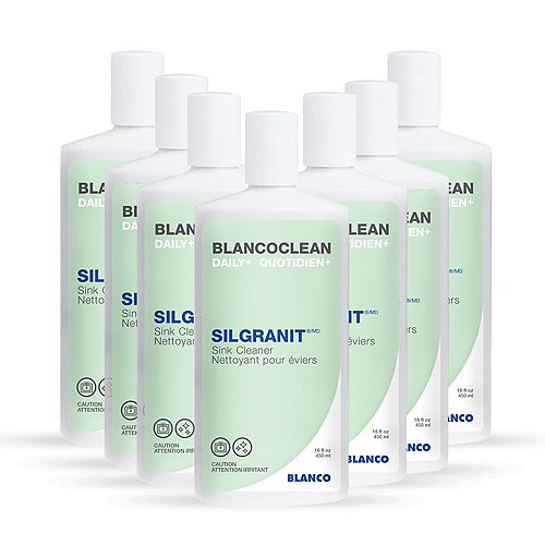 Nettoyant d'évier de couleur SILGRANIT (12 x 450 ml)