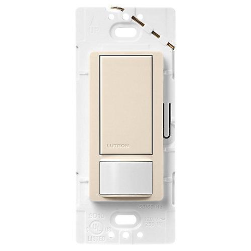 Maestro 2-Amp Single-Pole Occupancy Sensing Switch, Light Almond