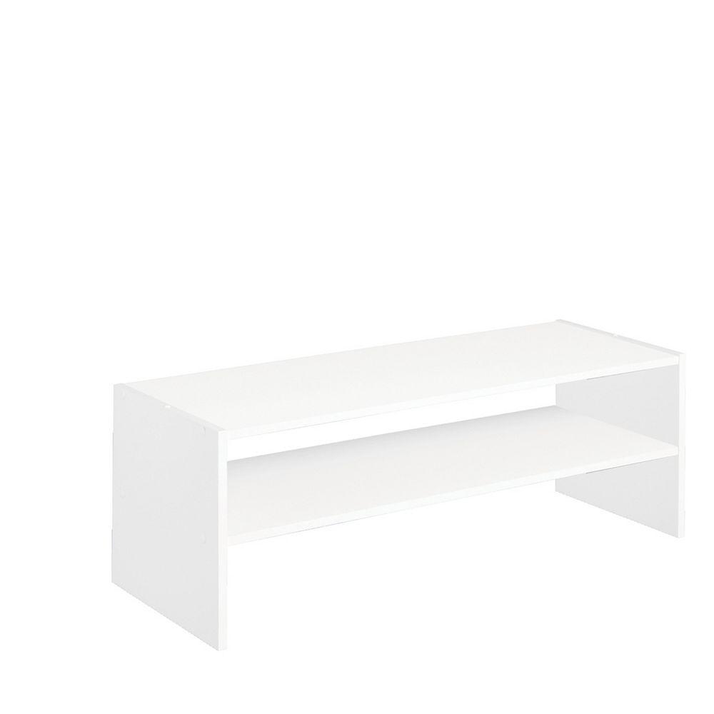 ClosetMaid Stackable Storage 31 inch Horizontal Organizer - White