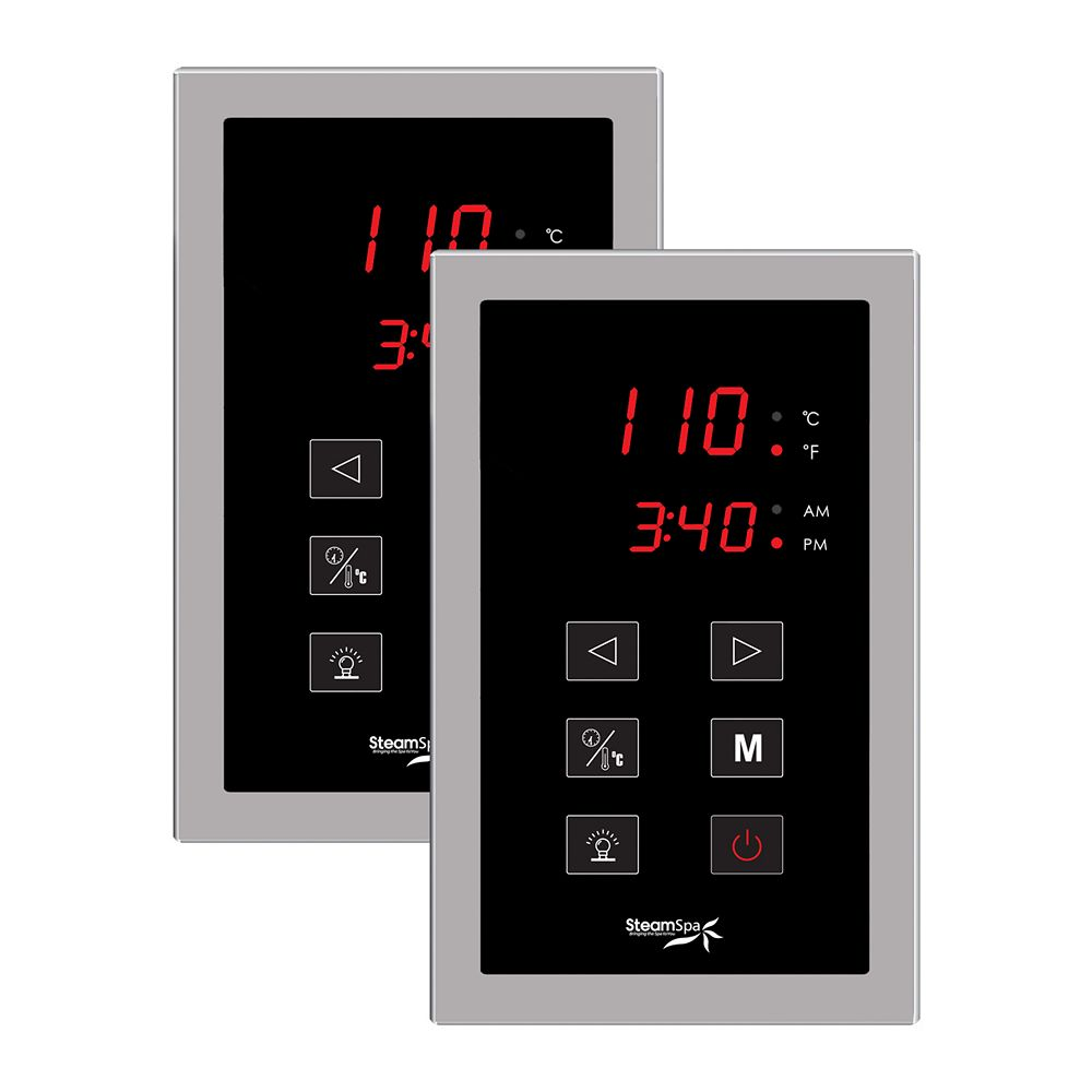 Steamspa Dual Touch Pad Control System