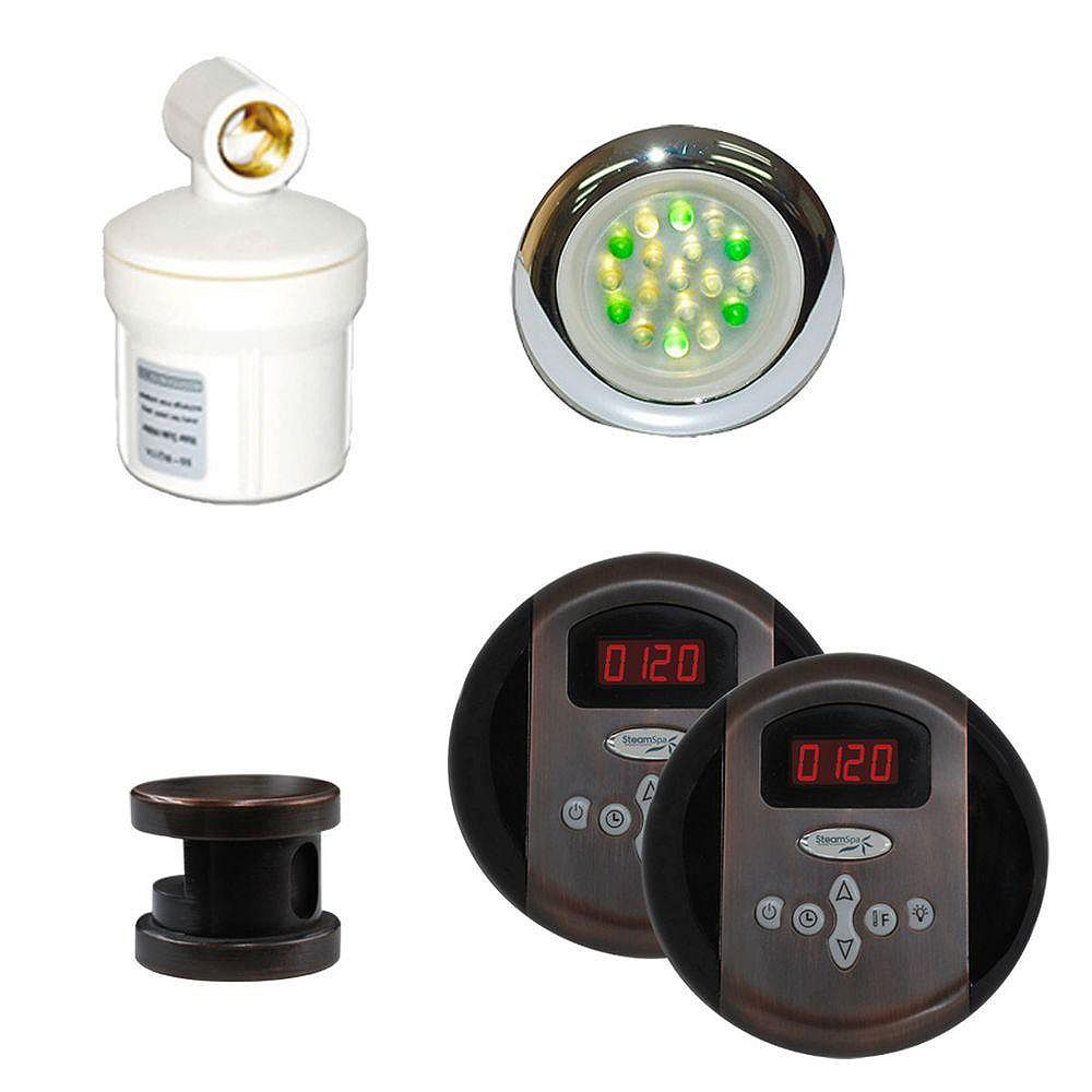 Steamspa Royal Control Kit in Oil Rubbed Bronze