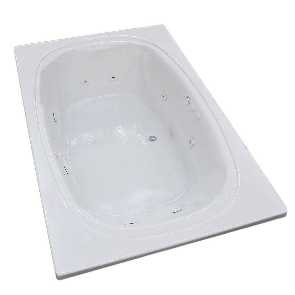 Universal Tubs Peridot 47.5 x 77.9 Baignoire De Massage Par Jets De Coin