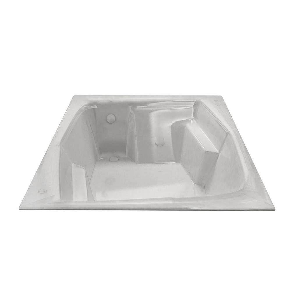 Universal Tubs Amethyst 53.75 x 71.75 Baignoire De Trempage Rectangulaire