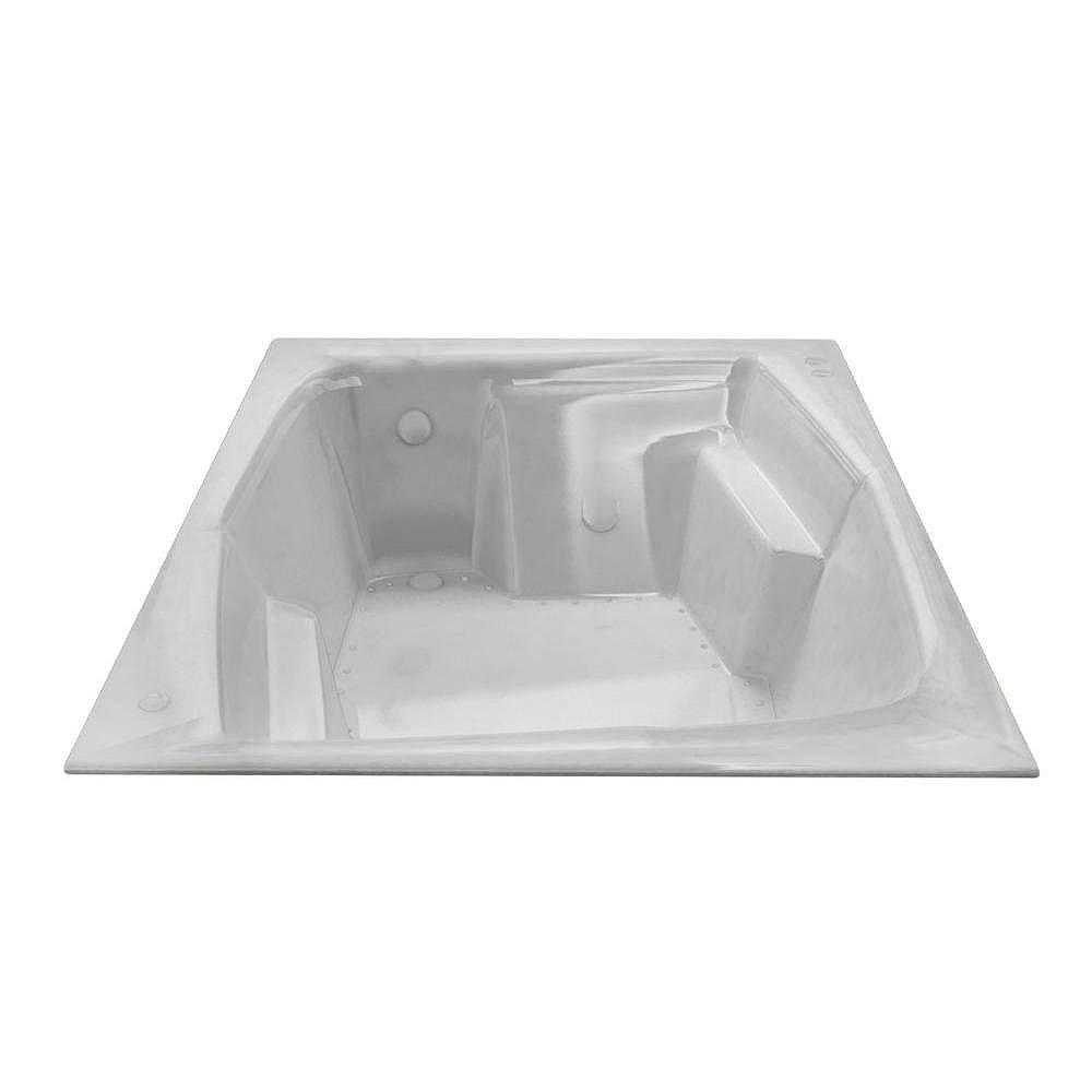 Universal Tubs Amethyst 6 Feet Rectangular Air Jetted Bathtub
