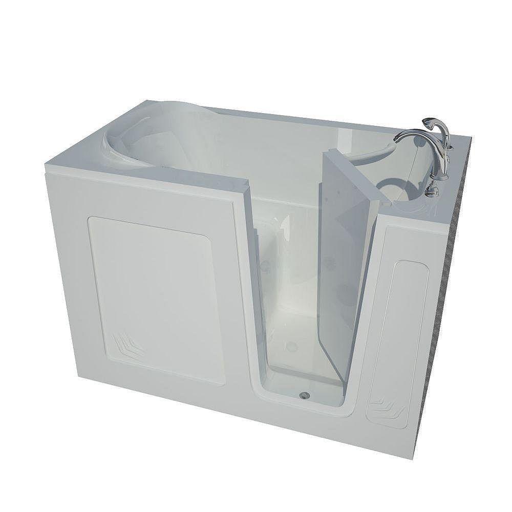 Universal Tubs 4 Feet 6-Inch Walk-In Bathtub in White