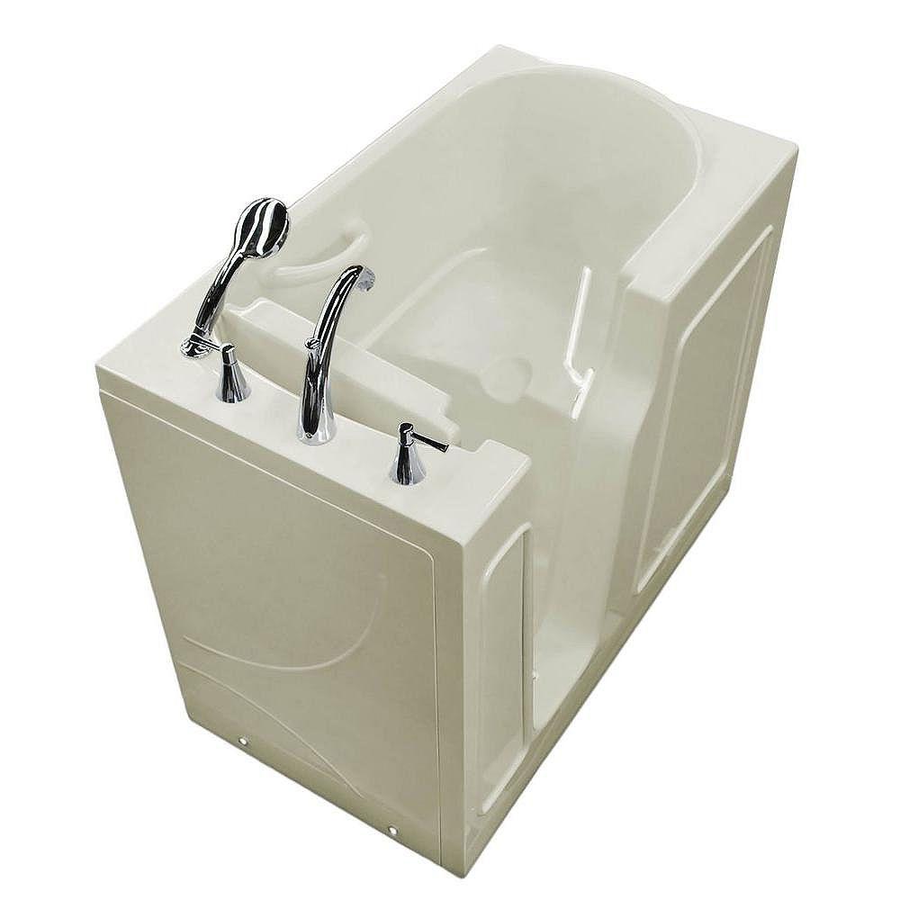 Universal Tubs 3 Feet 10-Inch Walk-In Bathtub in Biscuit