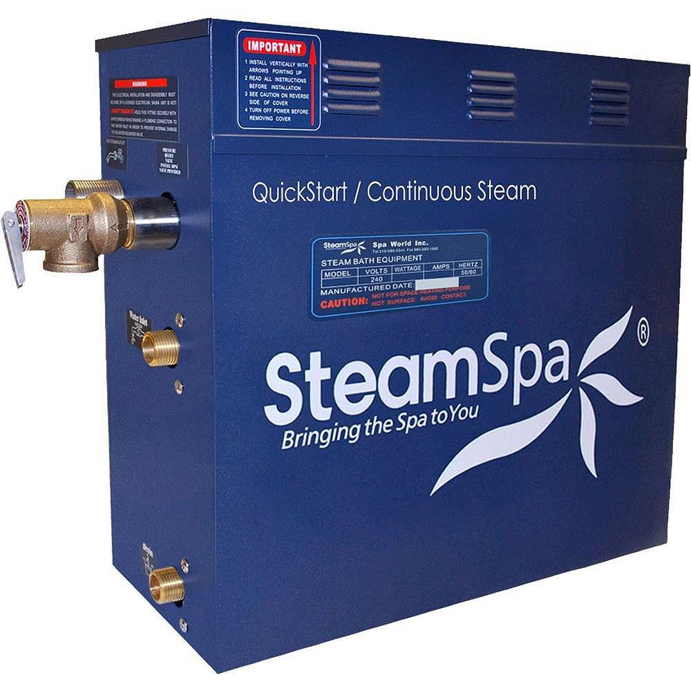 Steamspa 9 KW QuickStart Steam Bath Generator
