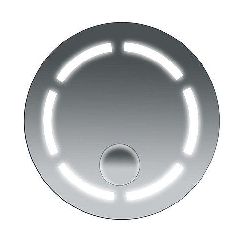26-inch W x 26-inch L Fog Free Frameless Wall Mirror