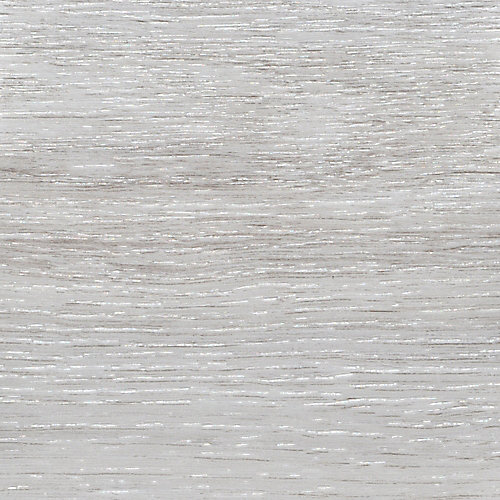 Sample - Flamed Oak White Luxury Vinyl Flooring, 4-inch x 4-inch