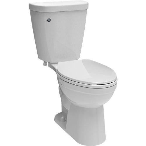 Brevard FlushIQ Single-Flush Elongated Bowl Toilet