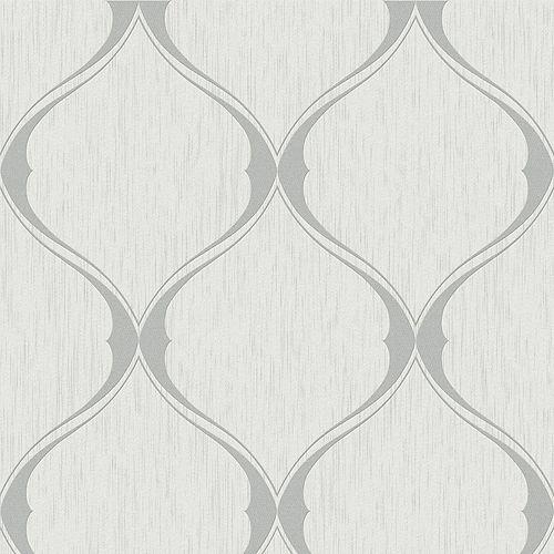 Ogée Papier Peint Gris
