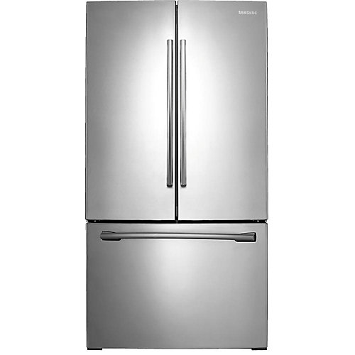 36-inch W 25.5 cu. ft. French Door Refrigerator in Stainless Steel - ENERGY STAR®