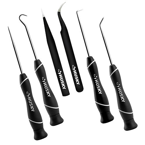 6-Piece Precision Pick & Tweezer Set