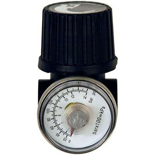 Husky 1/4-inch NPT Regulator with Gauge