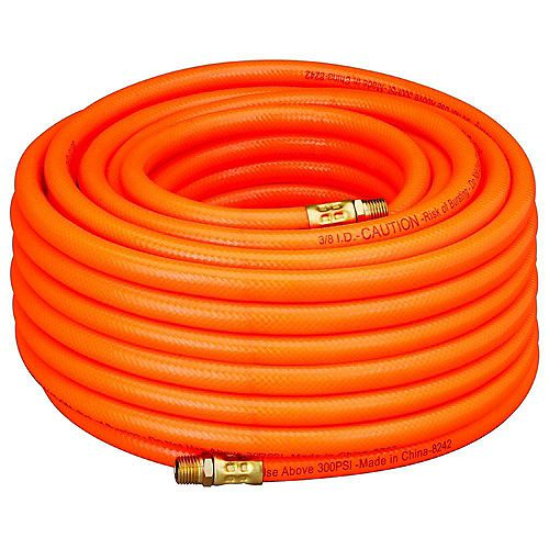 3/8-inch x 100 ft. PVC Air Hose