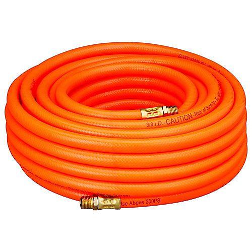 Tuyau à air en PVC 3/8 po x 50 pi (15 m)