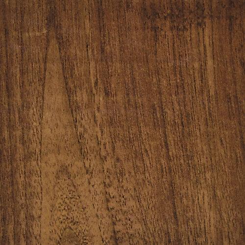 6 in. x 36 in. Hickory Brown Luxury Vinyl Plank Flooring (Sample)