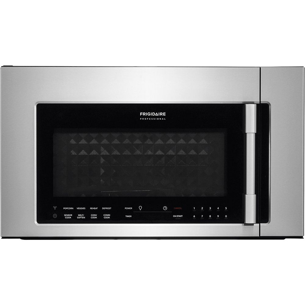 Frigidaire Professional 30-inch W 1.8 cu. ft. 2-in-1 Over the Range Convection Microwave in Stainless Steel