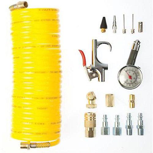 16-Piece Air Compressor Kit