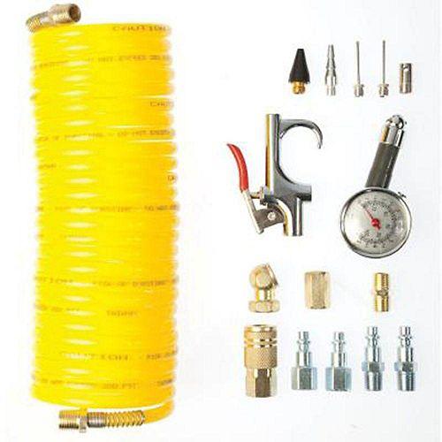 Trousse pour compresseur d'air, 16 pièces