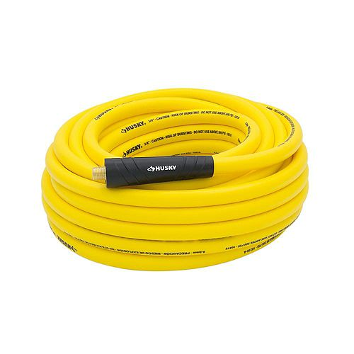 3/8-inch x 50 ft. Hybrid Air Hose in Yellow
