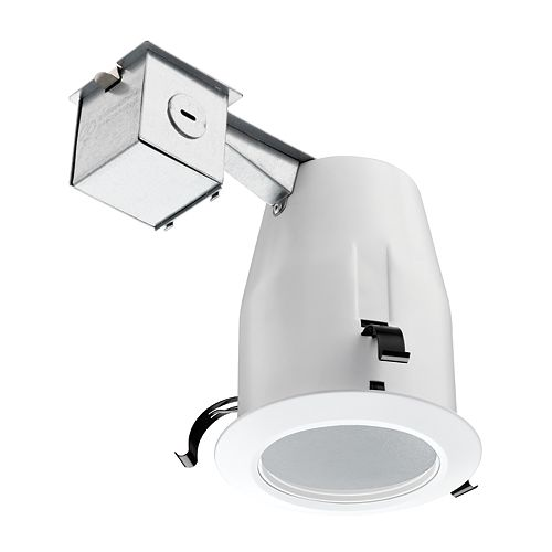 4-inch LED Recessed Soffit & Shower Baffle - White - ENERGY STAR®
