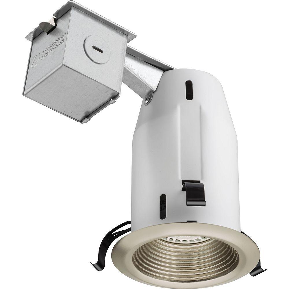 Lithonia Lighting 3 Inch LED  Recessed Baffle - Brushed Nickel