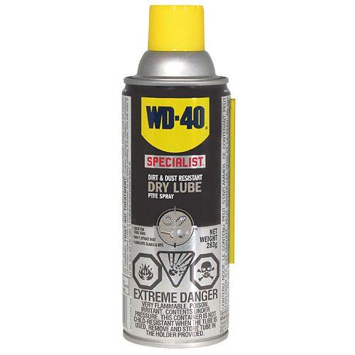 Lubrifiant sec au PTFE WD-40 Specialit en aerosol, 283g
