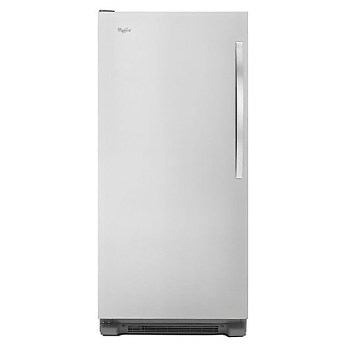 30-inch W 18  cu. ft. SideKicks Frost Free Upright Freezer in Monochromatic Stainless Steel