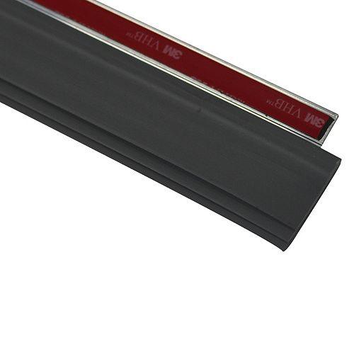 Cinch Door  Seal Bottom TRPL Fin 36 Inch  Silver