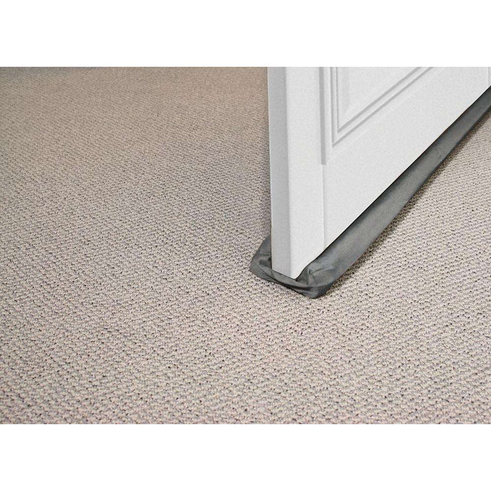 M-D Building Products 36-inch Foam Cloth Under Door Weather-Strip Brown