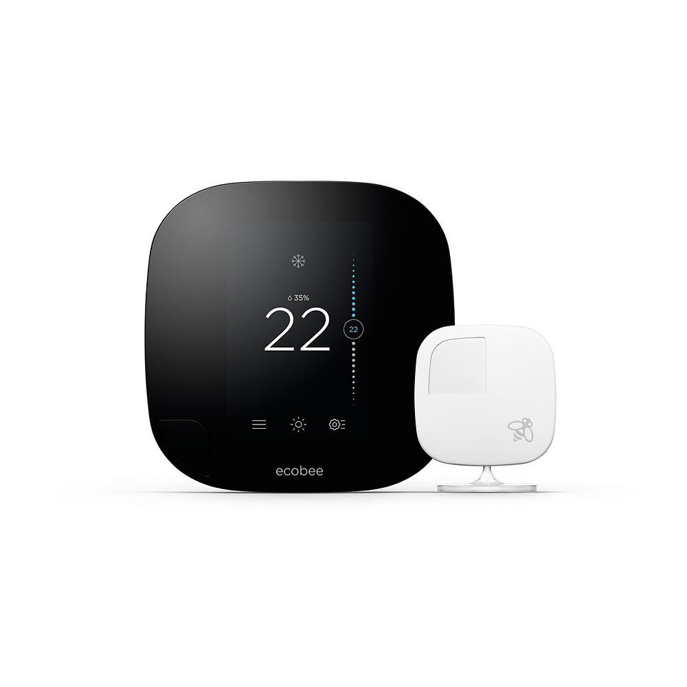 ecobee ecobee3 Smart Thermostat with Room Sensors - ENERGY STAR®
