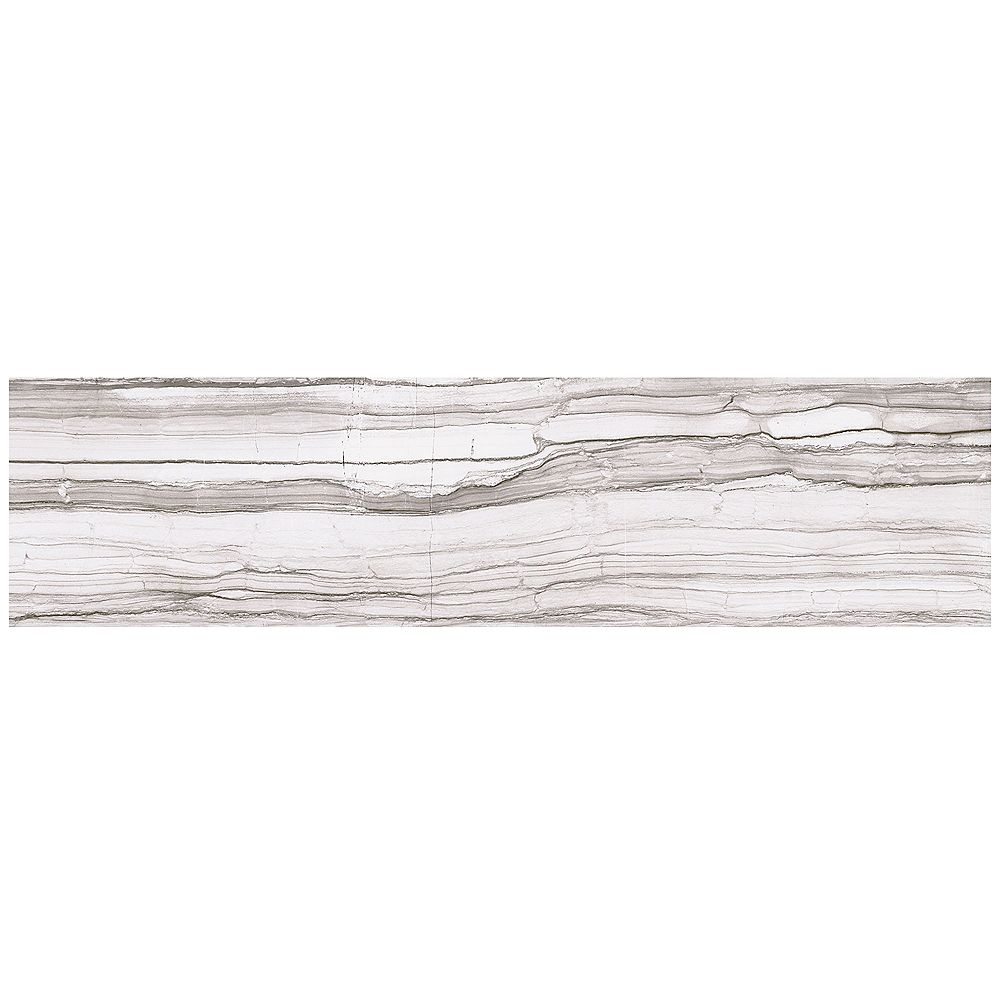 Marazzi VitaElegante Grigio 6-inch x 24-inch Porcelain Floor and Wall Tile (14.53 sq. ft. / case)