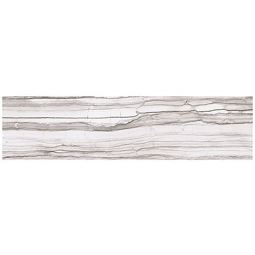Marazzi VitaElegante Grigio 6-inch x 24-inch Porcelain Floor and Wall Tile (14.53 sq. ft. / case)
