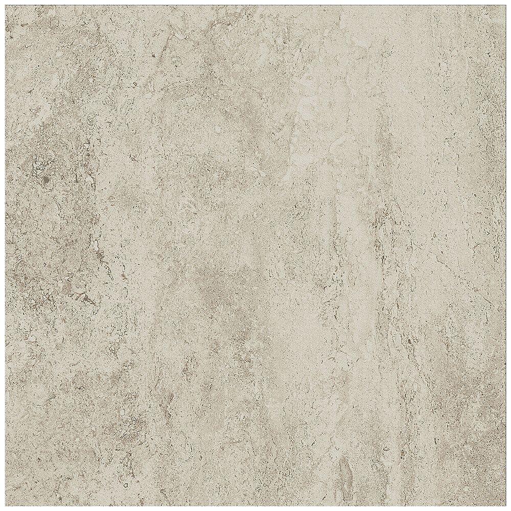 Dal Tile Bartello 18-inch x 18-inch Glazed Porcelain Floor and Wall Tile in Shimmer Stone