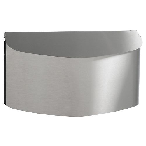 Contemporary Stainless Steel Wall Mount Mailbox