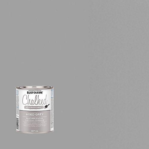 Peinture Ultra Mate Crayeuse En Gris - 887 Ml