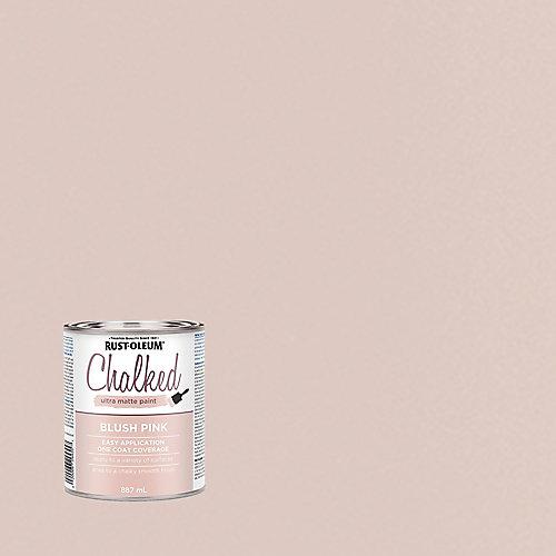 Peinture craie ultra-mate rose fard à joues, 887 mL