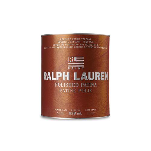 Ralph Lauren- Revêtement de spécialité: Patine Polie - base étain - 828 mL