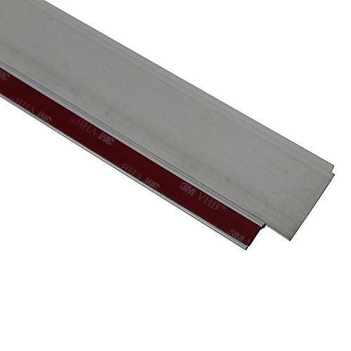 36po Bas de porte en vinyle à triple lame en aluminium de première qualité de CINCH - Blanc
